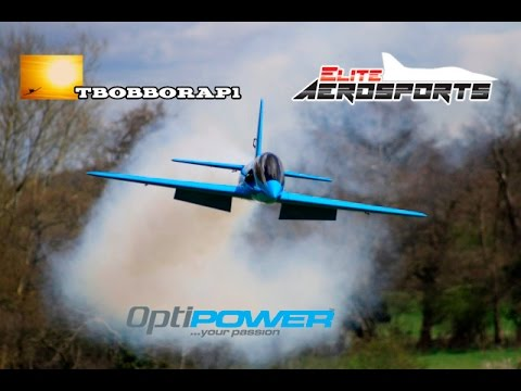 PIROTTI REBEL PRO 2.6 MTR GIANT SCALE RC SPORT JET - AZZA STEPHENS HORIZON HOBBY AT HOEA - 2016