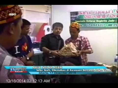 [ANTV] TOPIK, Batu Akik Solar Aceh Yang Kian Bersinar