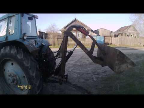 Погрузчик к трактору своими руками