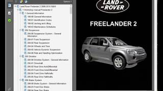 Land Rover Freelander 2 - Service Manual - Wiring Diagram - Owners Manual