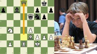 ¡EL NIÑO QUE SACRIFICA SU DAMA Y DERROTA A UN 2.700!: Keymer vs Gelfand (Isle of Man, 2018)