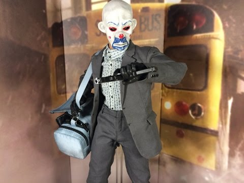 Hot Toys Dark Knight Bank Robber Joker 2.0 Sideshow Exclusive SDCC2014 Toy Review
