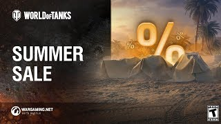 World of Tanks - Summer Sales Galore