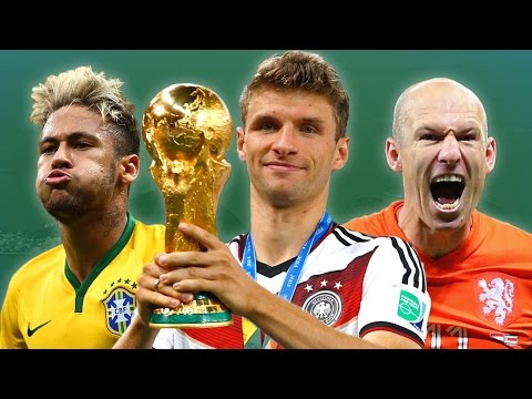 2014 World Cup Team of the Tournament