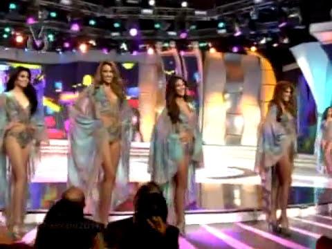 Desfile en traje de baño Miss Venezuela 2014 II