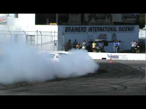 Powercruise USA #1 Brainerd, MN July 21st-24th 2011 Burnout Competition Shelby GT-500