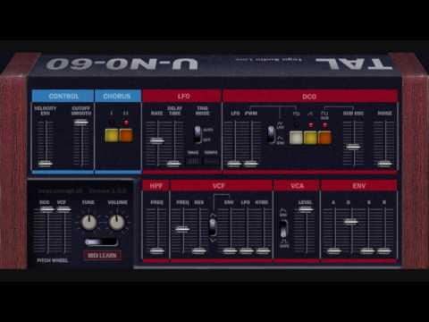 electropop-  - TAL juno-60 emulation
