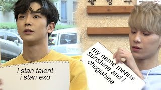 SF9 members are EXO-L's