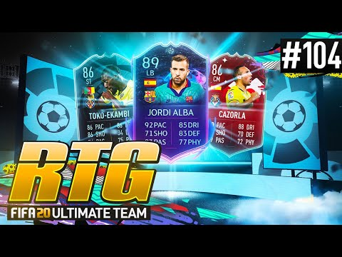 MY FIRST OWNER LA LIGA SQUAD BUILDER! - #FIFA20 Road to Glory! #104 Ultimate Team