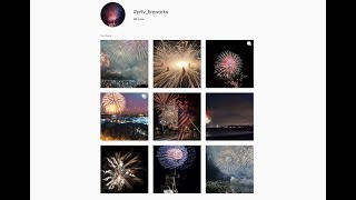 Instagram Challenge - Fireworks