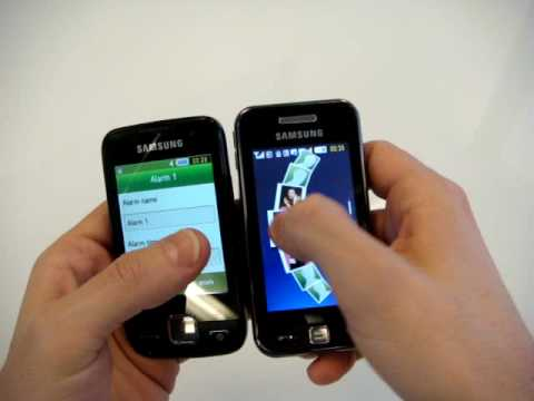 Samsung S5600 Halley vs S5230 Star CellulareMagazine.it (En) - YouTube