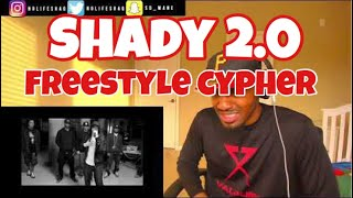 This is REAL HIPHOP! | Shady 2.0 Cypher 2011 BET Hip Hop Awards | REACTION