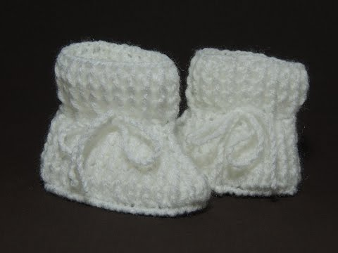 Sapatinho de Crochê. Sapatinho de bebê tradicional. Completo