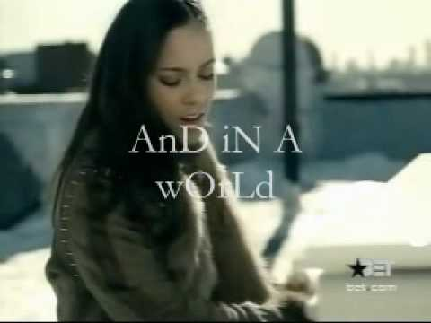 Alicia Keys - If I Ain't Got You w/some lyrics
