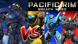 Pacific Rim: Breach Wars OBSIDIAN FURY Hybrid Vs Frip2game Jaeger Team iOS/Android Gameplay
