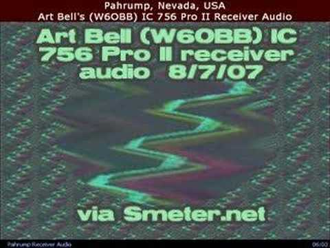 Art Bell on ham radio 8/7/07