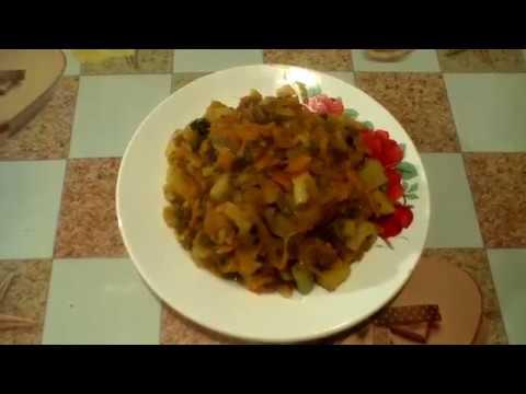 Аджапсандали. Овощное рагу.#суфикс