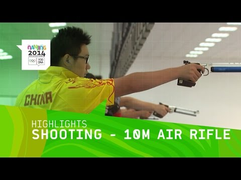 Mixed International 10m Air Rifle - Highlights | Nanjing 2014 Youth Olympic Games