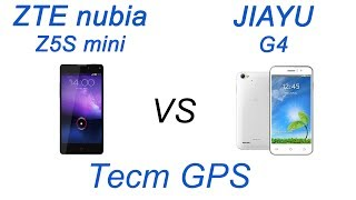 ZTE nubia Z5S mini VS Jiayu G4. Тест GPS.