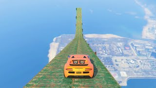 WORLD'S HIGHEST RAMP (GTA 5 Funny Moments)