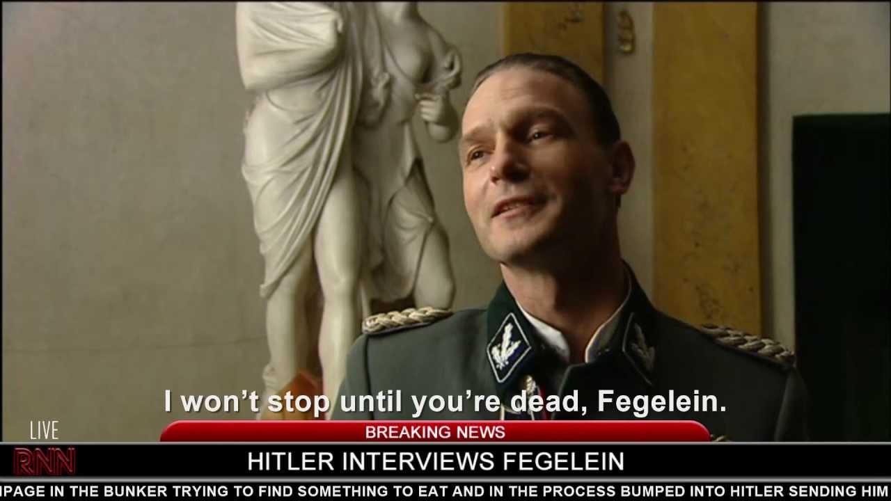 Hitler interviews Fegelein