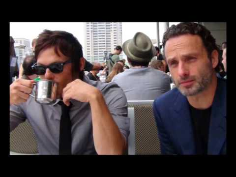 Norman Reedus & Andrew Lincoln - Count on me