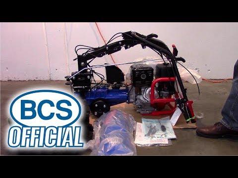 BCS Tractor Setup