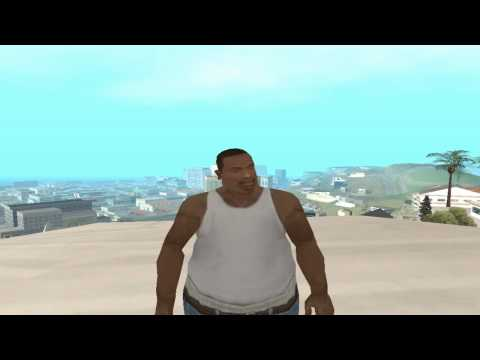 LOQUENDO- GTA San Andreas - CJ intenta pilotar un avion