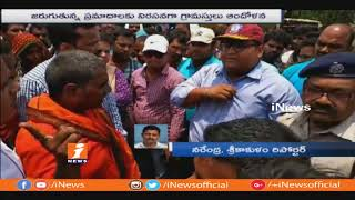 Villagers Protest On National Highway at Sumandi junction over Continues Road Mishaps | iNews