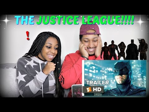 Justice League Comic-Con Trailer (2017) REACTION!!!!