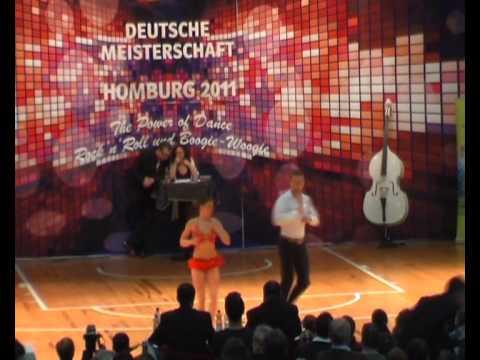 Julia Geishauser & Patrick Pfaller - Deutsche Meisterschaft 2011