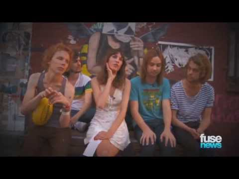 Alexa Chung Interviews Tame Impala Fuse News