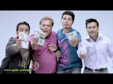Quikr New Funny TV Ad - App Download - Laptop