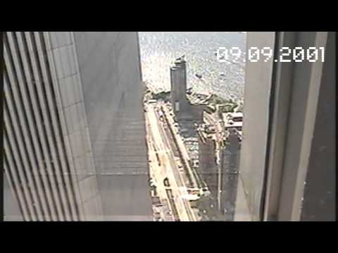 Video shot from the WTC on Sept 9, 2001 - Inside Top of World Trade Center on 9/9/2001 before attack