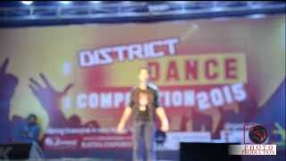 Raghav Juyal (King Of Slow Motion) Aka Crockroaxz Special Performance In District Dance Competitio