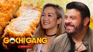 Adam Richman Gets a Crash Course in Japanese Fried Food | Gochi Gang