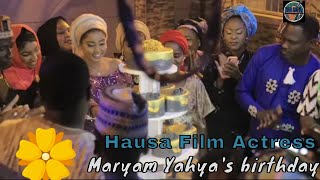 Hapy birthday Maryam Yahya Hausa film actress