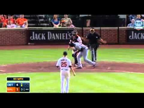 Tigers Defeat Orioles In Testy Game
