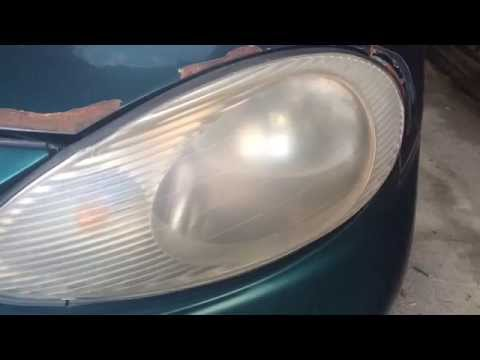 How to fix Cloudy Headlights on a vehicle