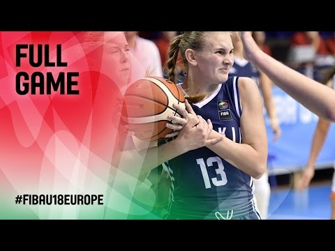 Netherlands v Slovak Republic - Full Game - FIBA U18 Women's European Championship 2016