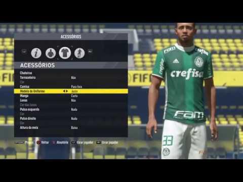 Gabriel de Jesus Palmeiras Face edit Pes 2017 #1