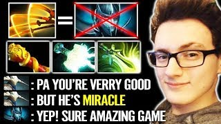 MIRACLE [Juggernaut]  Most IMBA Omnislash Build  - EZ Counter PA Dota 2
