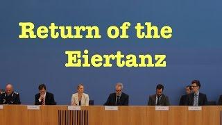 Pressekonferenz / Naive Fragen zu Russland, Inszenierungen, BND, Klima & TTIP