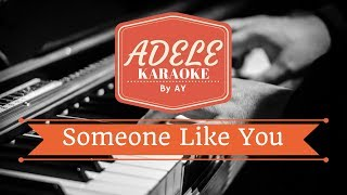 Adele Someone Like You Karaoke Version By Ay