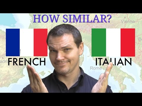 How Similar Are French and Italian?