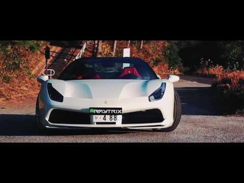 Ferrari 488 Spider | Armytrix Titanium Exhaust | HRE Wheels In Japan