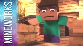 "♫ ""Where My Diamonds Hide"" - A Minecraft Parody Song of Imagine Dragon's Demons (Music Video)"