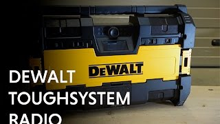 Dewalt DWST1-75663 Toughsystem Radio with DAB+ from Toolstop
