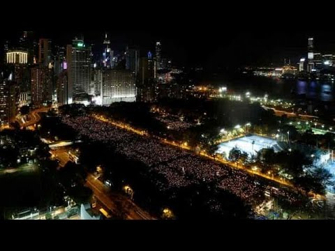 Tiananmen Square massacre fresh in the minds of thousands in Hong Kong