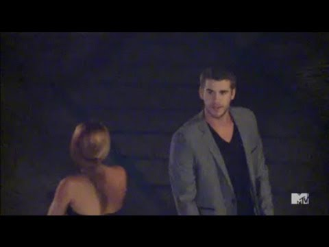 "Miley Cyrus' Naked ""Punk'd"" On Liam Hemsworth"